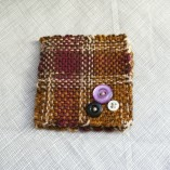 Purple Plaid Needlebook