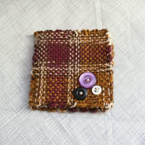 Purple Plaid Needlebook