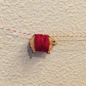 Mini Sheep Ornament