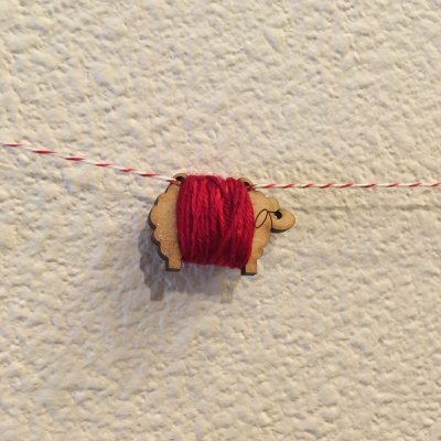 Mini Sheep Ornament