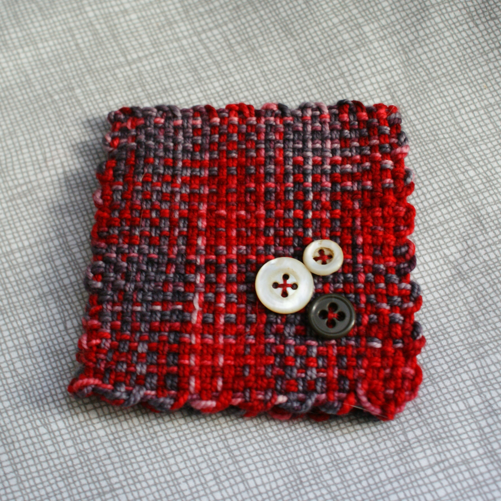 Red needlebook