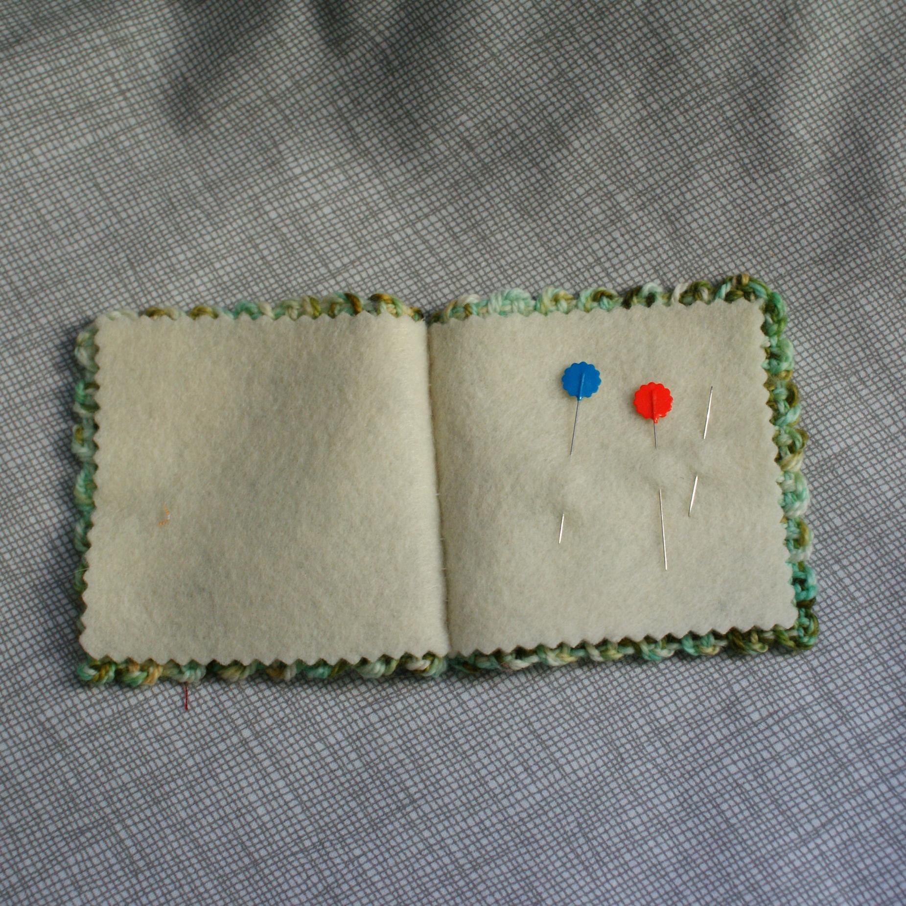 open needlebook