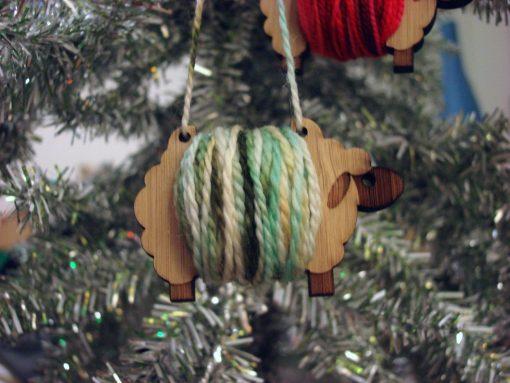 sheep ornament