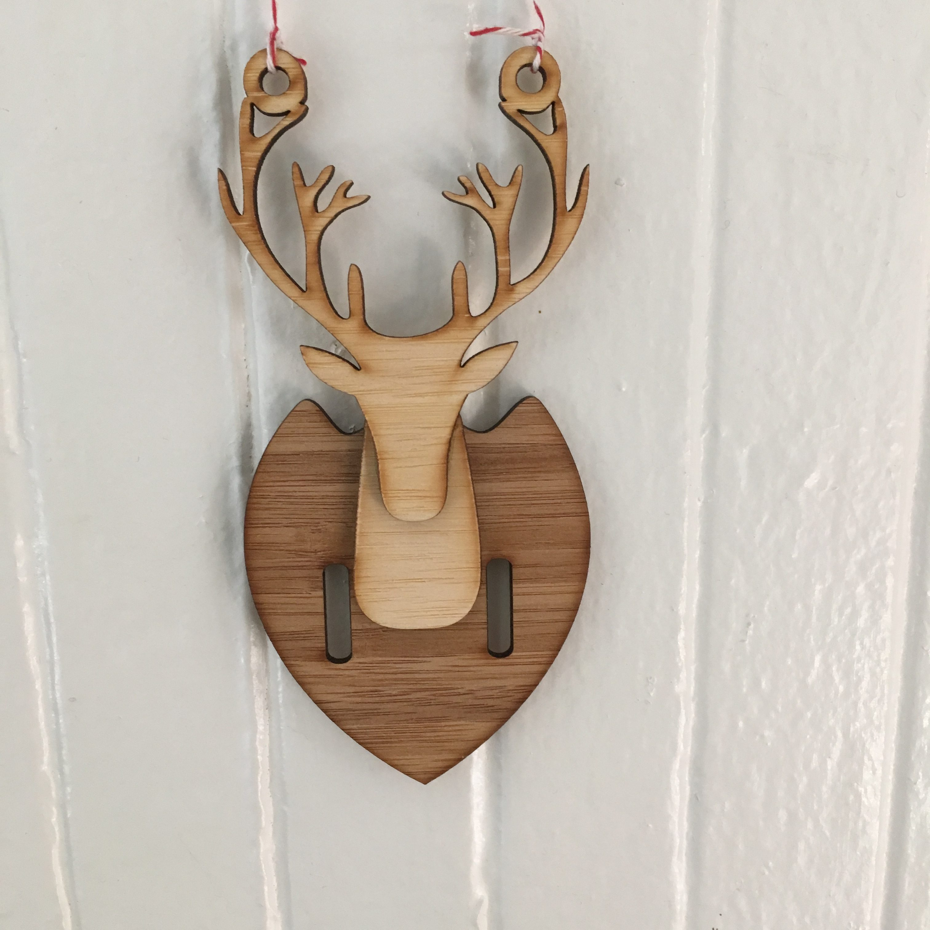 Mounted Buck Ornament