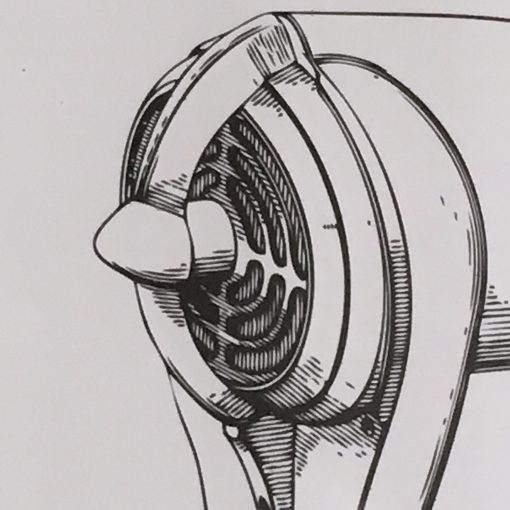 rocket print detail
