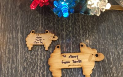 Sheep as Gift Tags