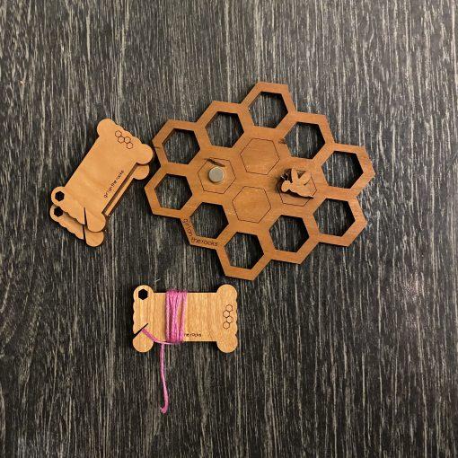 honeycomb set cherry