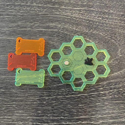 fluoro honeycomb set