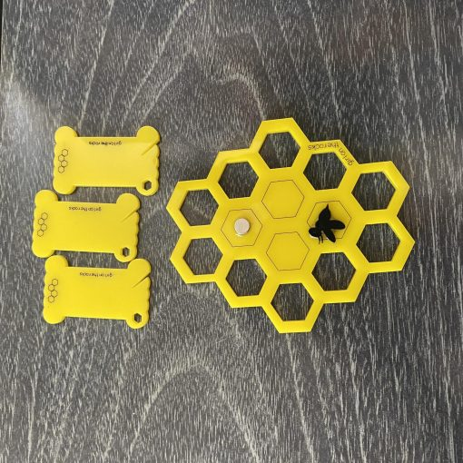 yellow honeycomb set